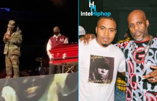 """DMX best friend """"Nas"""" pays his respect with a heartfelt speech at his memorial service!"""