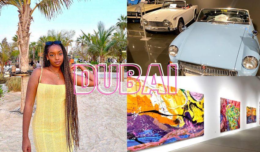 DUBAI VLOG #2: Eating Alone + La Mer Beachfront