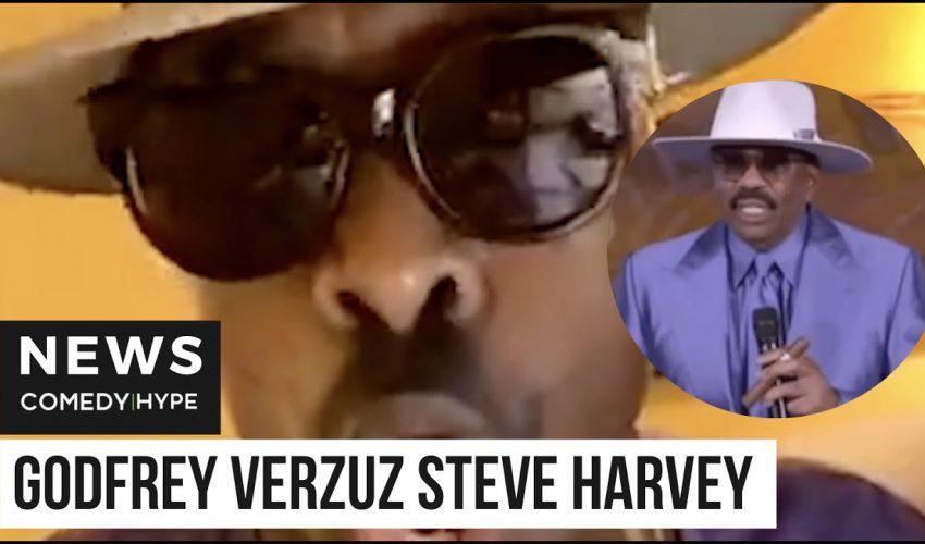 Godfrey Roasts Steve Harvey With Verzuz Impression – CH News