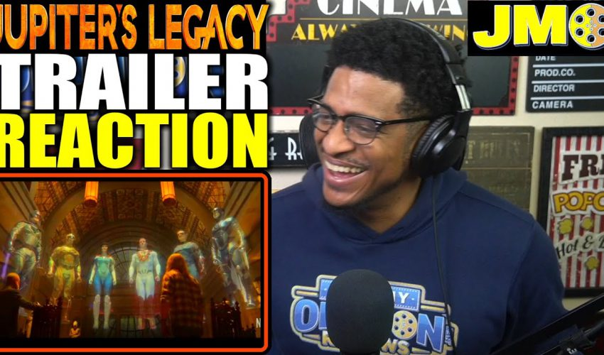 Jupiter's Legacy (2021) Official Trailer Reaction   THIS LOOKS AMAZING!!!