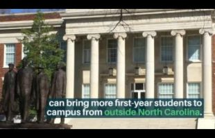 UNC System raises the out-of-state freshman cap for its five HBCUs