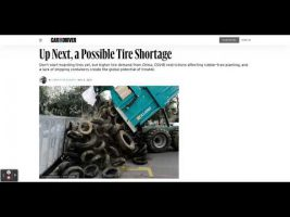 A Tire Shortage Is Coming