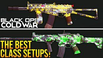 Black Ops Cold War: The BEST PRO CLASS SETUPS