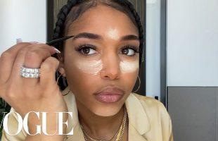 Lori Harvey's '90s-Inspired Makeup Routine | Beauty Secrets | Vogue