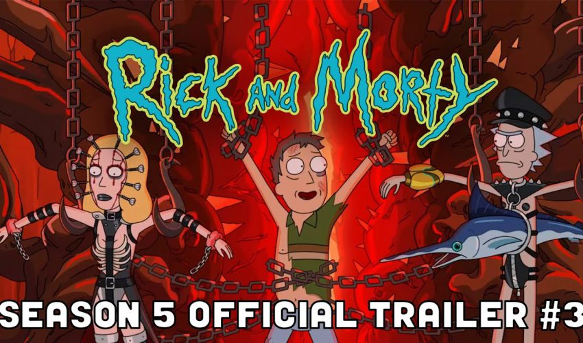 OFFICIAL TRAILER #3: Rick and Morty Season 5