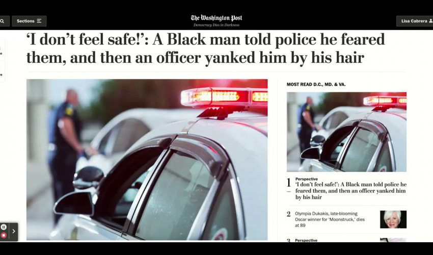 Black Man Stopped In DC Over Tinted Windows