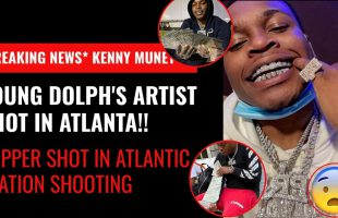 Young Dolph's Artist Shot in Atlanta! Kenny Muney in Rolling Shootout