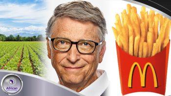 Bill Gates  Using 269k Acres Of Farmland For McDonald's Fries