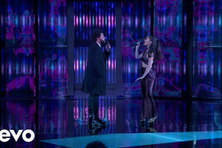 The Weeknd & Ariana Grande – Save Your Tears | Live