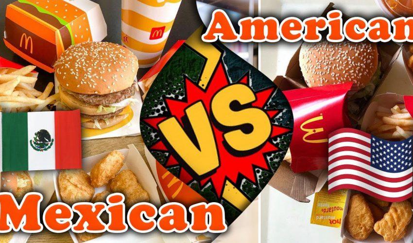 Mexico McDonald's VS American McDonald's Review