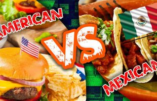Mexican Tijuana Food VS America Taco Bell Food Challenge | Mexican vs American Food Challenge